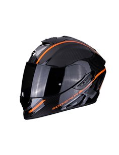 Casco Scorpion Exo-1400 Carbono Grand Naranja