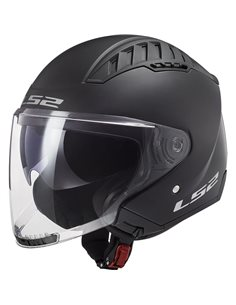 Casco LS2 OF600 Copter Solid Negro Mate
