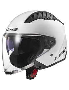 Casco LS2 OF600 Copter Blanco brillo