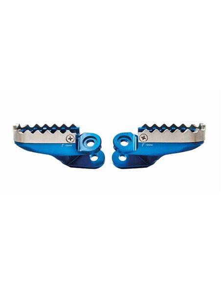 Estriberas conductor Off-Road Honda-Rizoma 08R83-MJP-G51 Azul