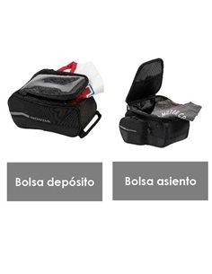 Kit de bolsas de viaje CB650R CBR650R 2019 accesorio original Honda 08ESY-MKJ-BAG18