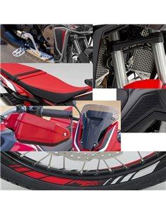 Pack Off Road DCT en Rojo Honda Africa Twin CRF1100L 2020 08DEM-MKS-L1DCTZA