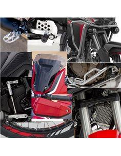 Pack Off Road Manual en Rojo Honda Africa Twin CRF1100L 2020 08DEM-MKS-L1MTZA
