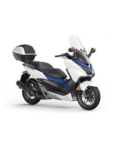 Baul 35L original Honda Forza 125 y 300 2020 08HME-K40-F30ZD NH-B44P Blanco Cool Mate Perlado
