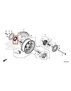 Anillo Pulsos ABS CB/CBR650R 2019-2020 recambio Honda 42515-MKN-D50