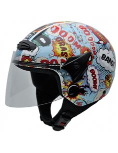 Casco Jet NZI HELIX II JR GRAPHICS BOOM