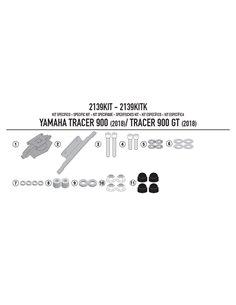 Kit anclaje Yamaha Tracer 900 / GT 2018 Givi 2139KIT