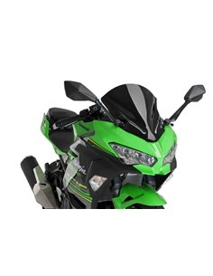 Cupula Kawasaki Ninja 400 2018-2019 Puig Z-Racing Negro 9976N
