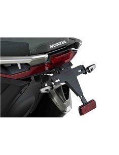 Portamatriculas Honda X-ADV 2017-2019 Puig 9706N Negro