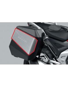 Paneles decorativos en aluminio para maletas laterales originales Honda Forza y X-ADV 750 2021 08L80-MKT-D00