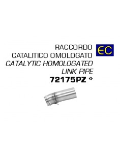 Tubo conector con catalizador de escape Husqvarna 701 Supermoto 2021 Arrow 72175PD