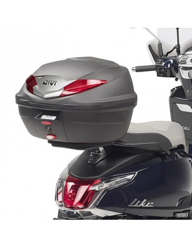 Adaptador posterior maleta Kymco LIKE 125-150 2017-2020 Givi SR6109