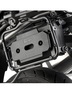 Kit montaje Tool Box Moto Guzzi V85 TT 2019-2021 Givi TL8203KIT