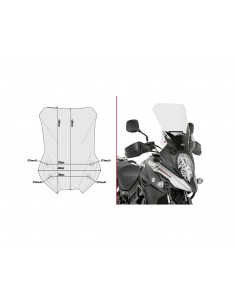 Parabrisas alto Suzuki DL 650 V-Strom 2017-2020 Givi D3112ST