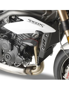 Kit montaje slider protector Triumph Speed Triple 1050 Givi SLD6414KIT