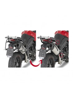 Portamaletas lateral Triumph Tiger Sport 1050 Givi PLR6404