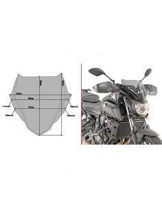 Parabrisas ahumado Yamaha MT-07 2018-2020 Givi A2140