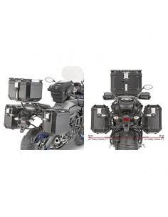 Soporte Maletas Laterales Yamaha Tracer 900 2018-2020 Givi PL2139CAM