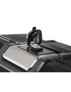 Maleta lateral derecha Shad 36L TERRA aluminio negro TR36R