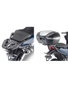 Adaptador posterior maleta Honda Forza 750 2021 Givi 1186FZ