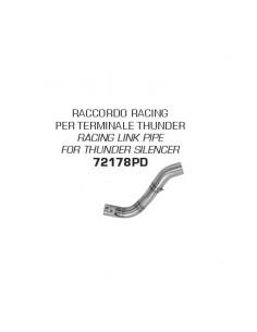 Conector racing para silenciosos Thunder Honda CRF 300 L 2021 Arrow 72178PD