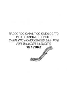 Conector catalítico homologado para silenciosos Thunder Honda CRF 300 L 2021 Arrow 72178PZ