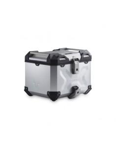 Maleta superior 38 l TRAX ADV topcase plateado Sw-Motech ALK.00.733.15000/S