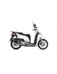 Escape Honda SH 300 2007-2014 Mivv Mover INOX BARNIZADO NEGRO MV.HO.0001.LV