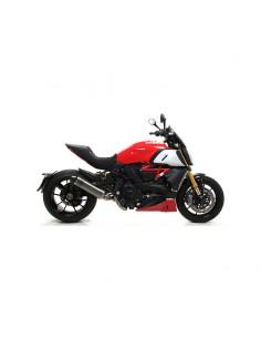 Escape Indy Race aluminio punta carbono Ducati Diavel 1260 S 2019-2020 Arrow 71924AK