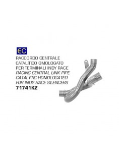 Conector central homologado catalizado Ducati Diavel 1260 S 2019-2020 Arrow 71741KZ