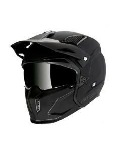 Casco Streetfighter SV solid A1 matt black