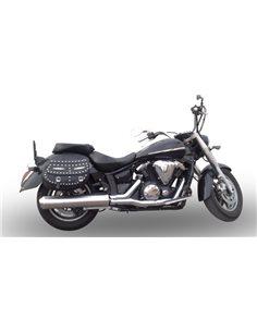 Escape Yamaha XVS 1300 Midnight Star 2006-2014 GPR Inox Redondo Y.139.IT
