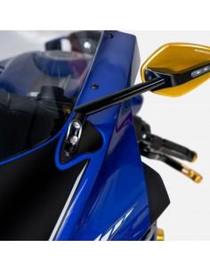 Adaptador para espejos Yamaha R6 2017-2021 Barracuda YP618ADATT