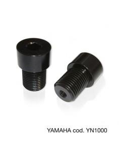 Adaptador de espejo y anti-vibraciones en manillar Yamaha Barracuda YN1000