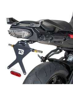 Porta-matrículas Yamaha MT-09 2014-2020/MT-09 Tracer-Tracer 900 2015-2016 Barracuda YMT9104*