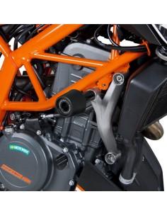 Topes anticaída KTM 390 Duke 2011-2021 Barracuda KTM3101