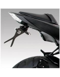 Porta-matrículas Kawasaki Z1000 2007-2009/Z750 2007-2014/Z750R 2011-2015 Barracuda KN710407BN**