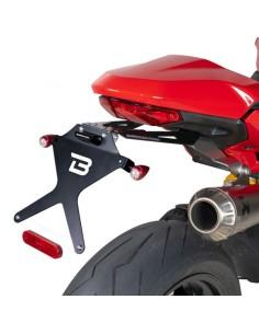 Porta-matrículas Ducati Monster 821 2018-2020/SuperSport 937 2016-2019 Barracuda DN810418*