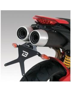 Porta-matrículas Ducati Hypermotard 1100 2007-2012/Hypermotard 796 Barracuda DH1104BN