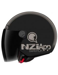 Casco CAPITAL 2 DUO SWITCH BLACK&BROWN MATT NZI 150300A444
