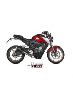 Escape completo Honda CB125R 2021 Mivv GP Pro Acero Inox Negro H.077.LXBP