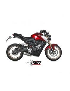 Escape completo Honda CB125R 2021 Mivv MK3 Acero Inox H.078.SM3X