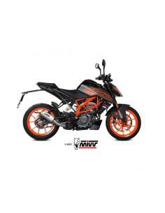 Escape KTM 125 Duke 2021 Mivv KT.025.SM3X MK3 Acero Inox