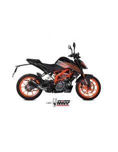 Escape KTM 125 Duke 2021 Mivv KT.025.SM3B MK3 Acero Inox Negro