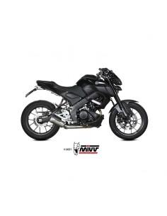 Escape completo Yamaha MT-125 2020-2021 Mivv MK3 Acero Inox Y.067.SM3X