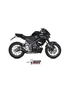 Escape completo Yamaha MT-125 2020-2021 Mivv GP Pro Acero Inox Negro Y.067.LXBP