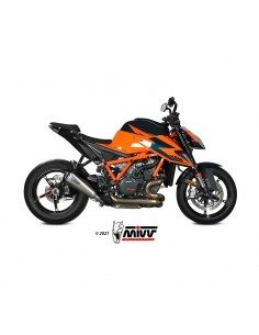 Escape KTM 1290 Superduke 2020-2021 Mivv Delta Race Acero Inox KT.026.LDRX