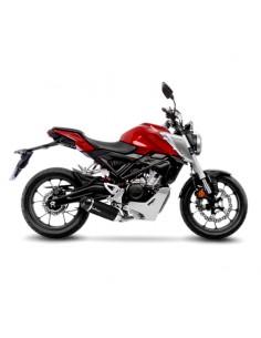 Escape completo Honda CB 125 R 2018-2020 Leovince One Evo Carbono 14246E