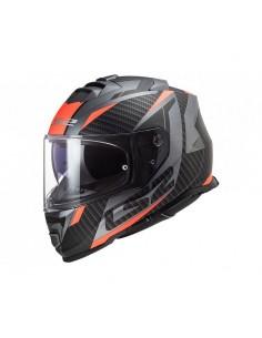 Casco FF800 Storm Racer Matt Titanium Fluor Orange LS2 108002152