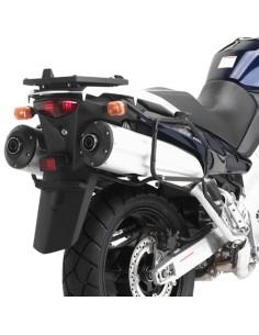 Fijacion maletas laterales Kawasaki KLV1000 2004-2010/Suzuki DL1000V-Strom 2002-2011 GIVI PL528